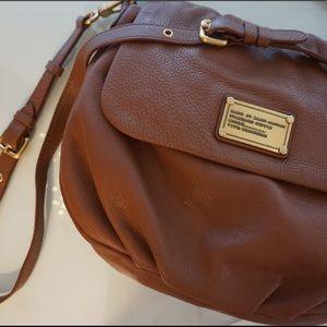 Cognac Marc Jacobs Leather Handbag